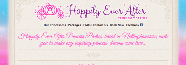 Happily Ever After Princess Parties